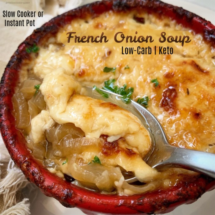 This-low-carb-version-of-French-onion-soup-is-cheesy-and-flavorful.-Make-this-healthy-yet-comforting-soup-in-your-slow-cooker-or-Instant-Pot-cover
